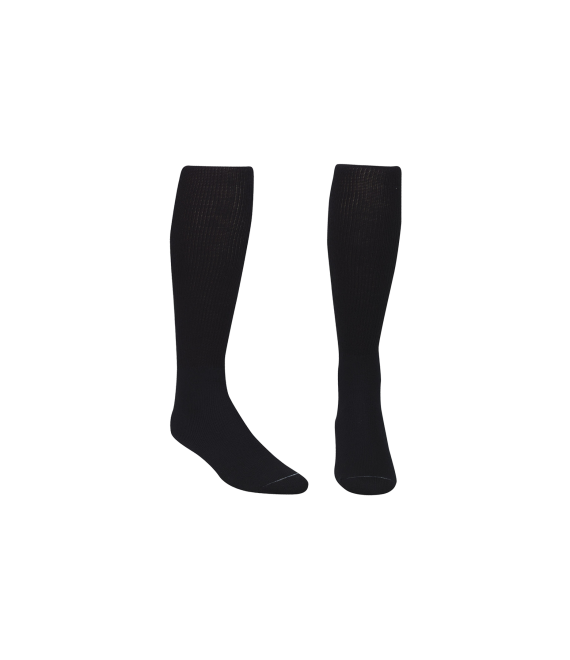 Score Sports Solid Black Socks No. 800