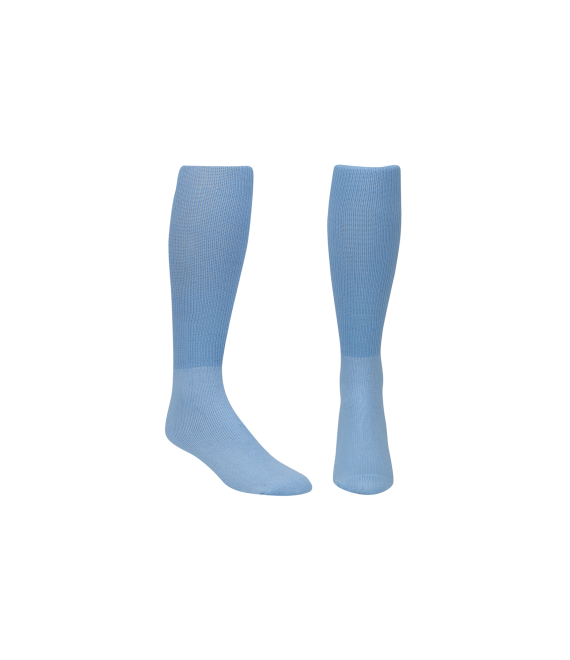 Score Sports Solid Columbia Blue Socks No. 800