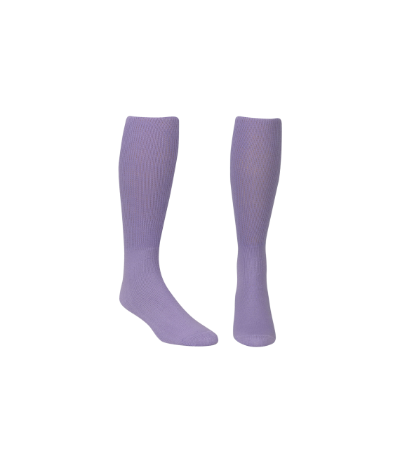 Score Sports Solid Lavender Socks No. 800