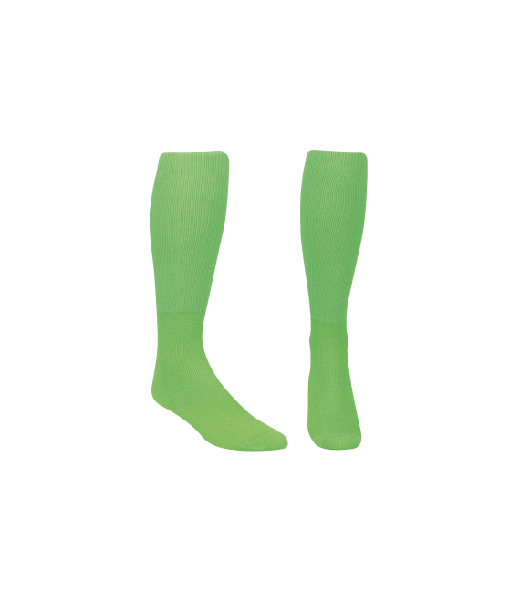 Score Sports Solid Lime Green Socks No. 800