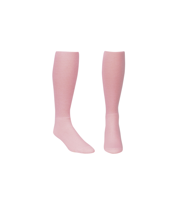 Score Sports Solid Pink Socks No. 800