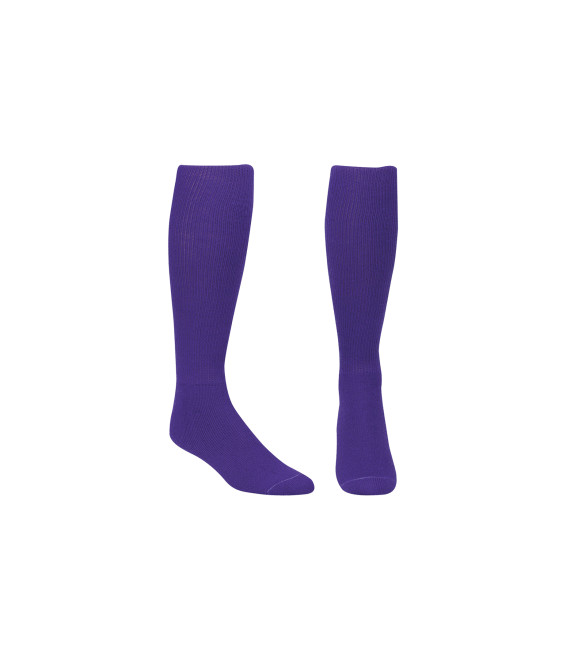 Score Sports Solid Purple Socks No. 800