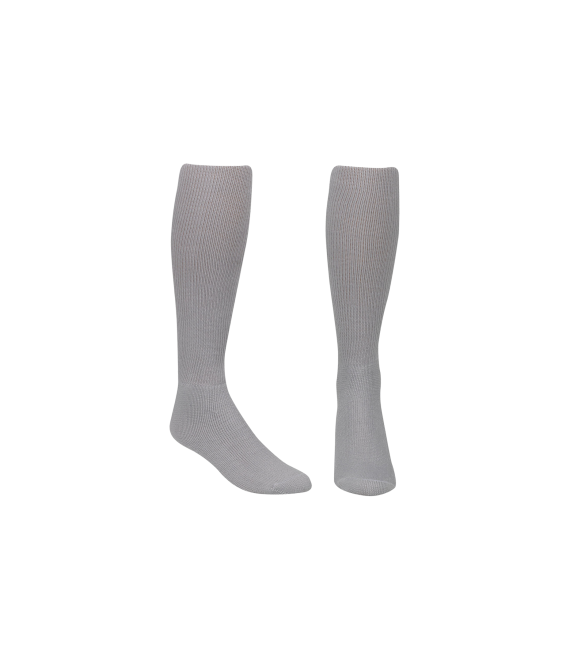 Score Sports Solid Silver Socks No. 800