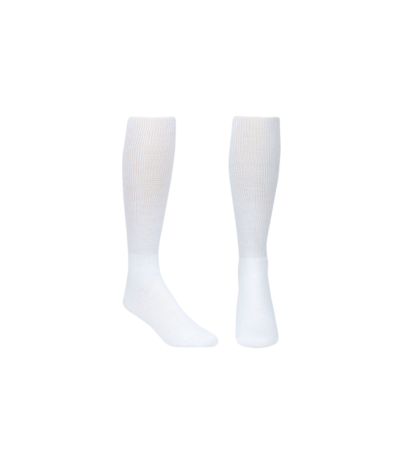 Score Sports Solid White Socks No. 800