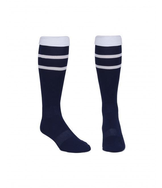 Score Sports Elite 828 Navy/White Performance Socks