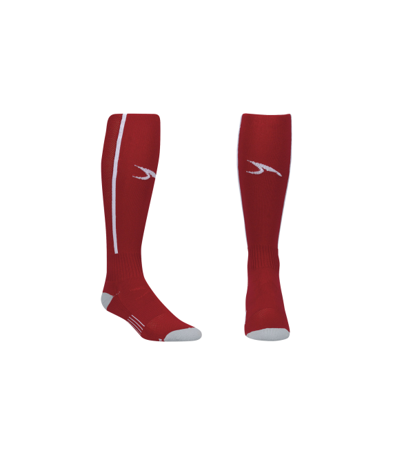 Score Sports Elite 828 Red/White Performance Socks