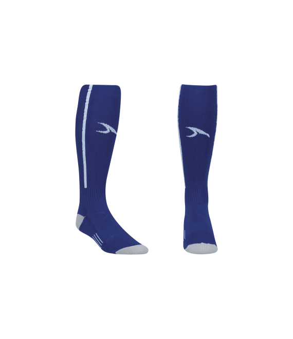 Score Sports Elite 828 Royal Blue/White Performance Socks