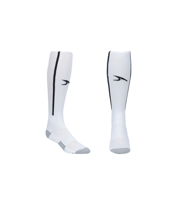 Score Sports Elite 828 White/Black Performance Socks