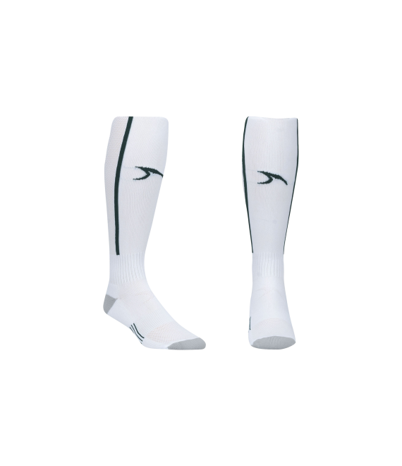 Score Sports Elite 828 White/Hunter Green Performance Socks