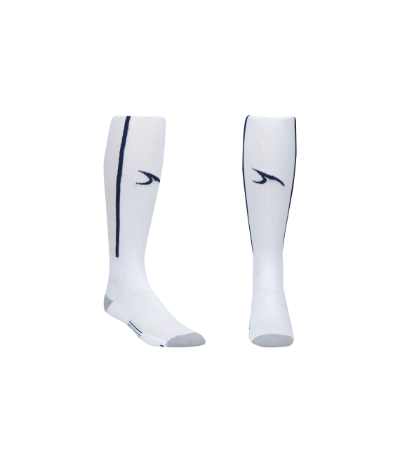 Score Sports Elite 828 White/Navy Performance Socks