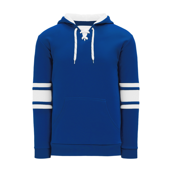 Athletic Knit (AK) A1845A-206 Adult Royal Blue/White Apparel Sweatshirt