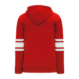 Athletic Knit (AK) A1845 Red/White Apparel Sweatshirt