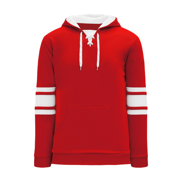 Athletic Knit (AK) A1845Y-208 Youth Red/White Apparel Sweatshirt