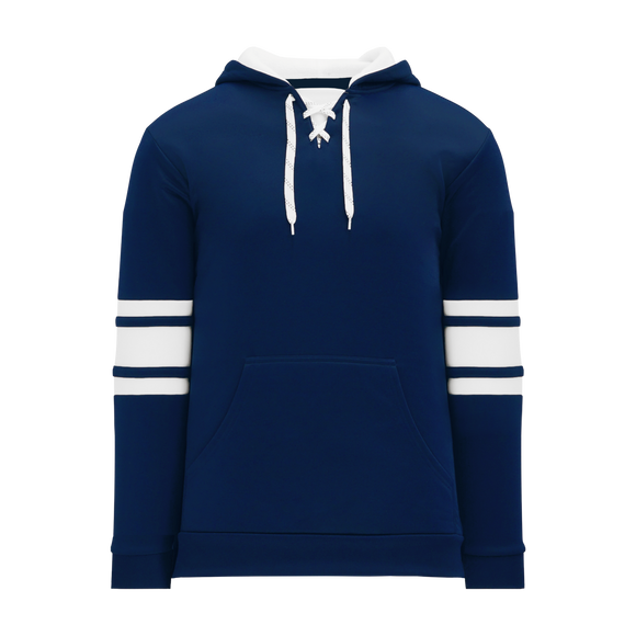 Athletic Knit (AK) A1845A-216 Adult Navy/White Apparel Sweatshirt