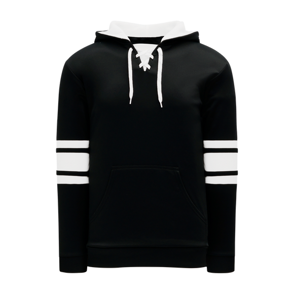 Athletic Knit (AK) A1845-221 Black/White Apparel Sweatshirt