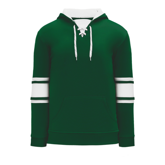 Athletic Knit (AK) A1845 Dark Green/White Apparel Sweatshirt