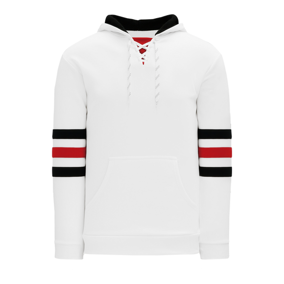 Athletic Knit (AK) A1845A-305 Adult Chicago White Apparel Sweatshirt