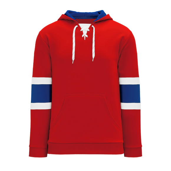 Athletic Knit (AK) A1845-308 Montreal Red Apparel Sweatshirt