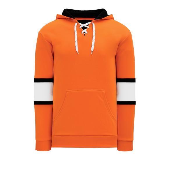 Athletic Knit (AK) A1845A-330 Adult Philadelphia Orange Apparel Sweatshirt