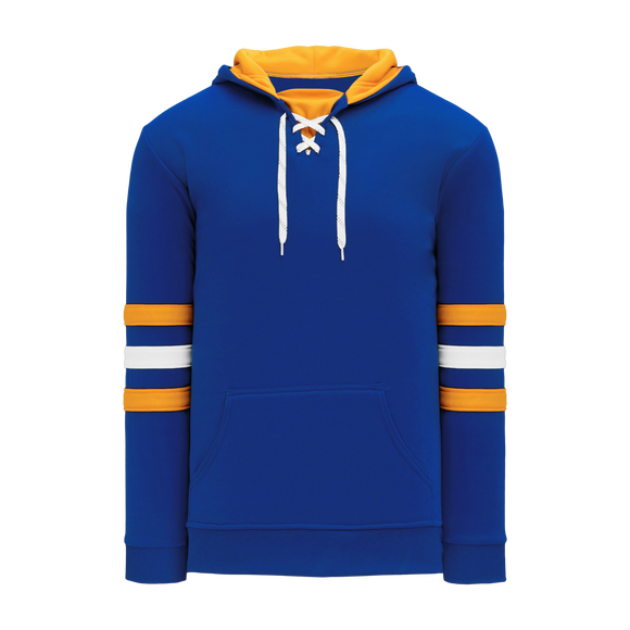 Athletic Knit (AK) A1845A-447 Adult Royal Blue/Gold/White Apparel Sweatshirt
