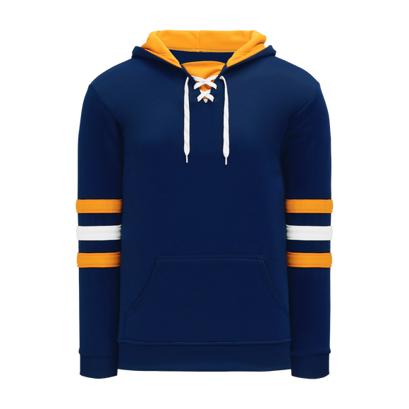 Athletic Knit (AK) A1845 Navy/Gold/White Apparel Sweatshirt