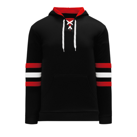 Athletic Knit (AK) A1845-614 Chicago Black Apparel Sweatshirt