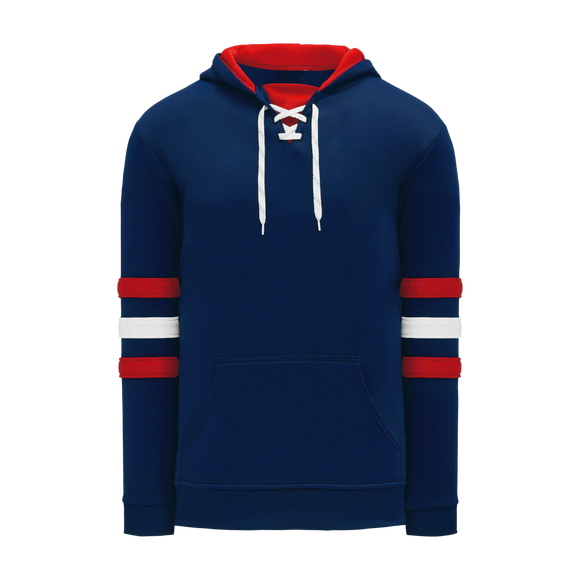 Athletic Knit (AK) A1845 Navy/Red/White Apparel Sweatshirt