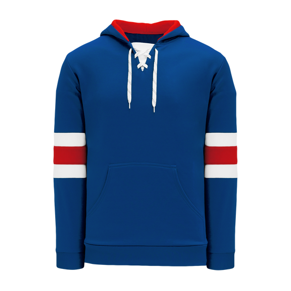 Athletic Knit (AK) A1845A-812 Adult New York Rangers Royal Blue Apparel Sweatshirt