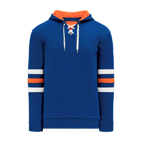 Athletic Knit (AK) A1845A-820 Adult Edmonton Royal Blue Apparel Sweatshirt