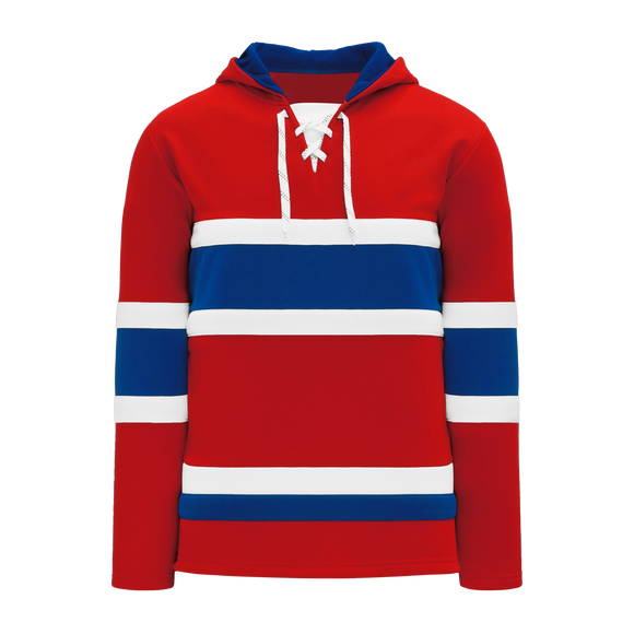 Athletic Knit (AK) A1850-308 Montreal Red Apparel Sweatshirt
