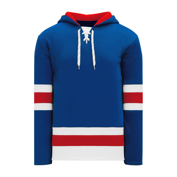 Athletic Knit (AK) A1850-812 New York Rangers Royal Blue Apparel Sweatshirt