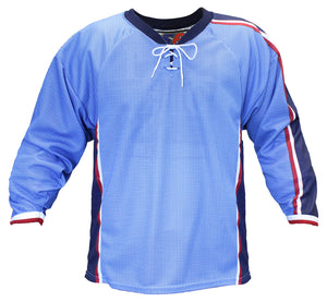 SP Apparel Evolution Series Atlanta Thrashers Sky Blue Sublimated Hockey Jersey - PSH Sports