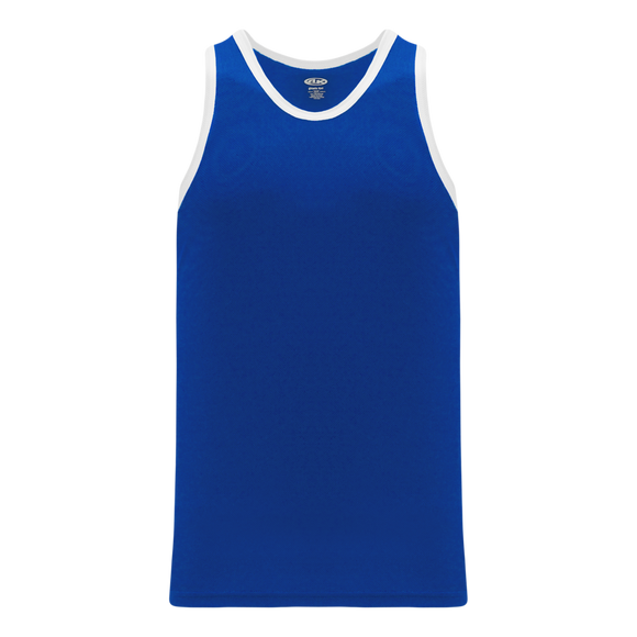 Athletic Knit (AK) B1325-206 Royal Blue/White League Basketball Jersey
