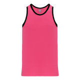Athletic Knit (AK) B1325-276 Pink/Black League Basketball Jersey