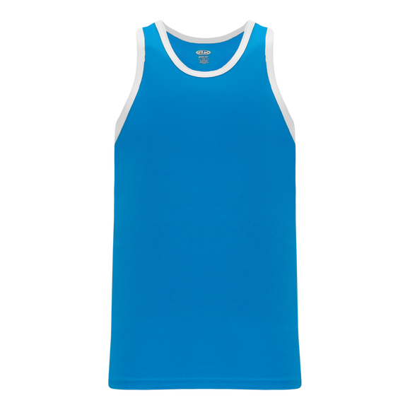Athletic Knit (AK) B1325-289 Pro Blue/White League Basketball Jersey