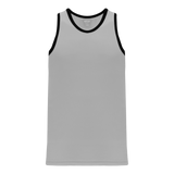 Athletic Knit (AK) B1325 Grey/Black League Basketball Jersey