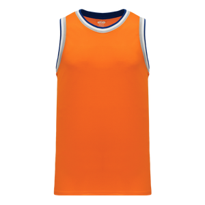Athletic Knit (AK) B1710-486 Orange/Royal Blue/White/Grey Pro Basketball Jersey