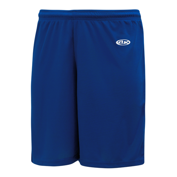 Athletic Knit (AK) BAS1300 Royal Blue Baseball Shorts