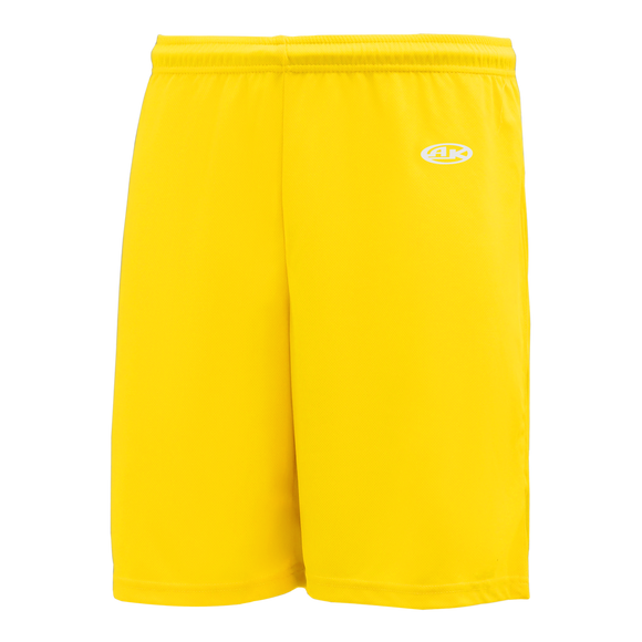 Athletic Knit (AK) BAS1300 Maize Baseball Shorts