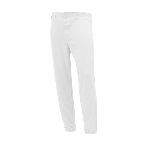 Athletic Knit (AK) BA1380 White Pro Baseball Pants