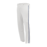 Athletic Knit (AK) BA1391 White/Navy Pro Baseball Pants