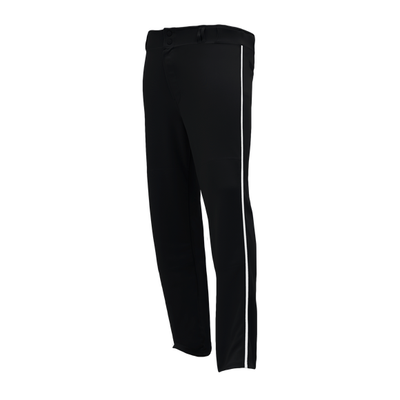 Athletic Knit (AK) BA1391-221 Black/White Pro Baseball Pants