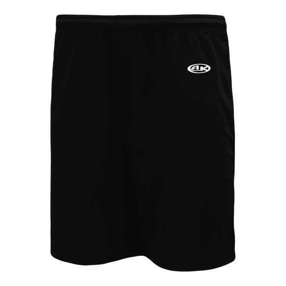 Athletic Knit (AK) BAS1700 Black Baseball Shorts