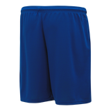 Athletic Knit (AK) BAS1700-002 Royal Blue Baseball Shorts