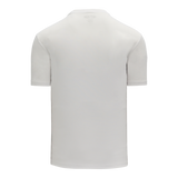 Athletic Knit (AK) BA1800 White Pullover Baseball Jersey
