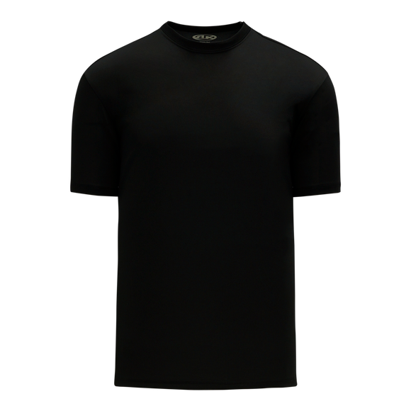 Athletic Knit (AK) BA1800 Black Pullover Baseball Jersey