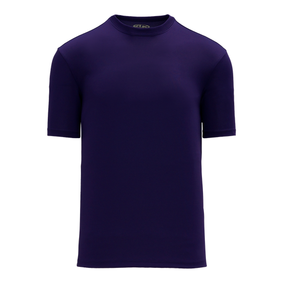 Athletic Knit (AK) BA1800-010 Purple Pullover Baseball Jersey