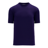Athletic Knit (AK) BA1800 Purple Pullover Baseball Jersey