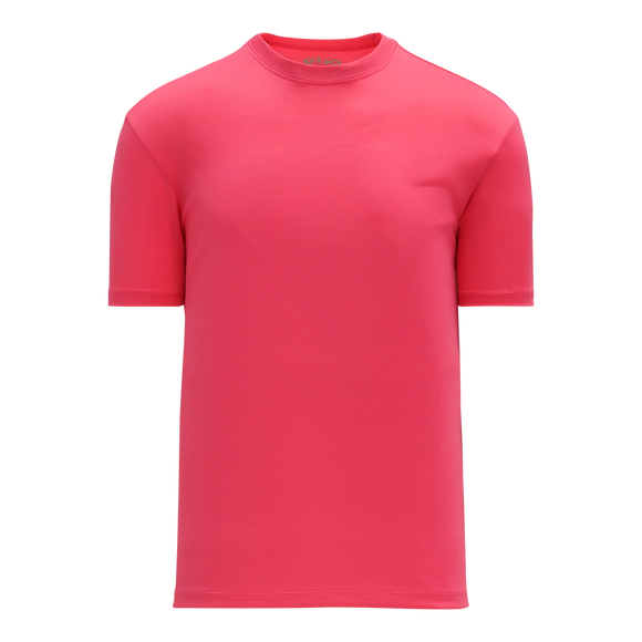 Athletic Knit (AK) BA1800M-014 Mens Pink Pullover Baseball Jersey