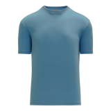 Athletic Knit (AK) BA1800M-018 Mens Sky Blue Pullover Baseball Jersey